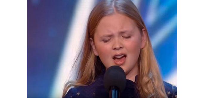 L'incroyable voix de la petite Anglaise