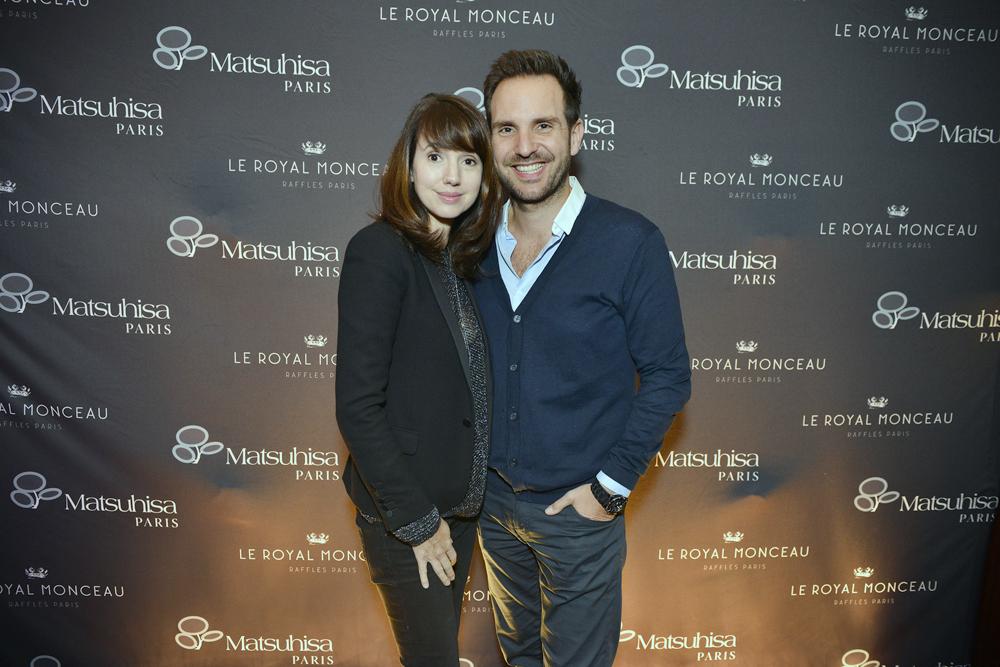 Christophe Michalak et Delphine McCarty