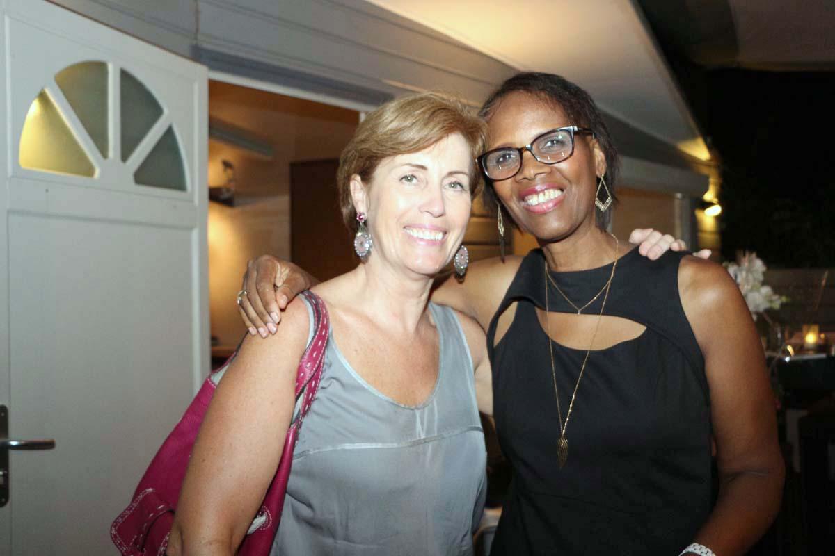 Caroline Gaudel de SFR avec Louisiane