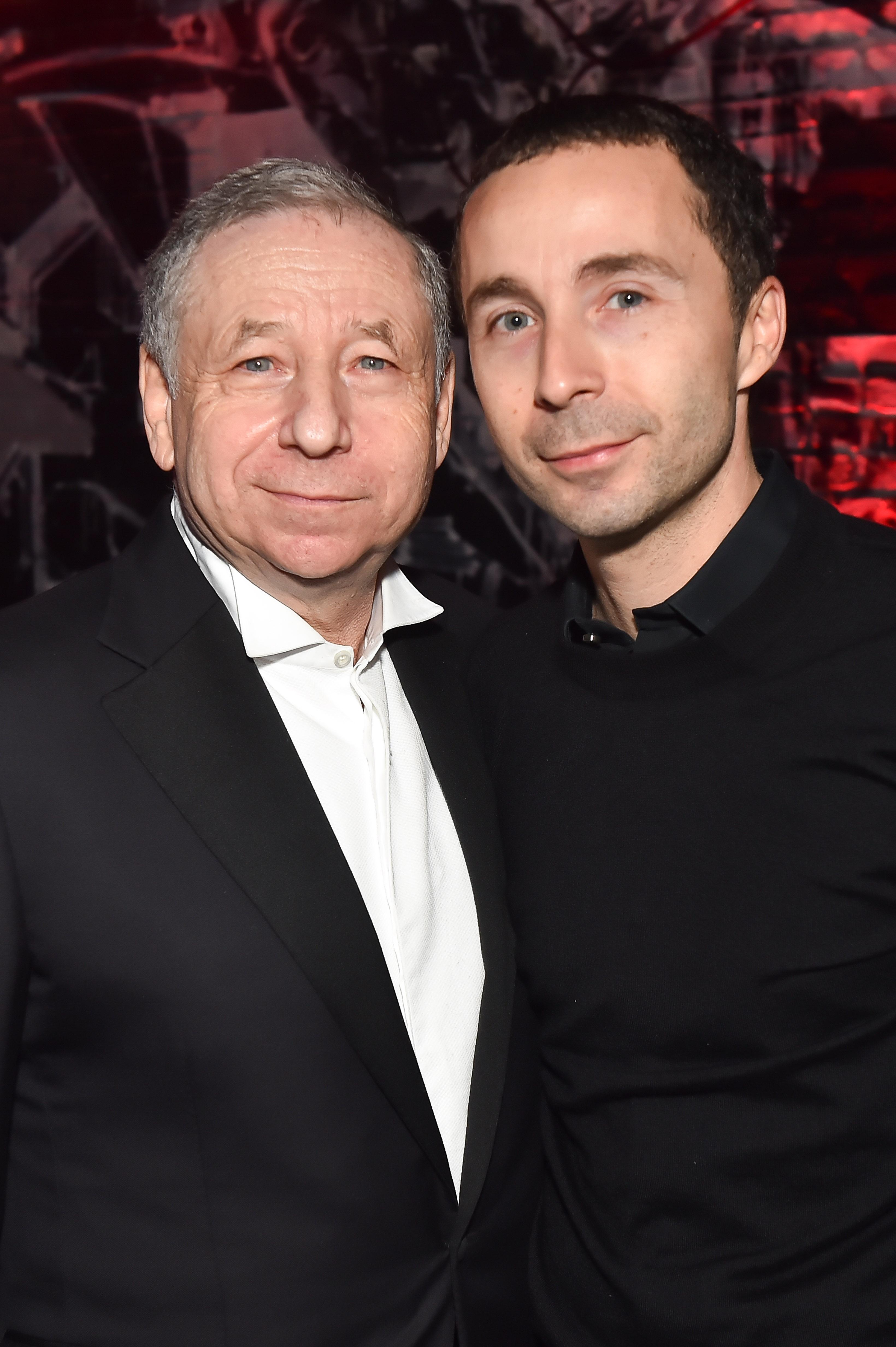 Jean Todt et son fils Nicolas