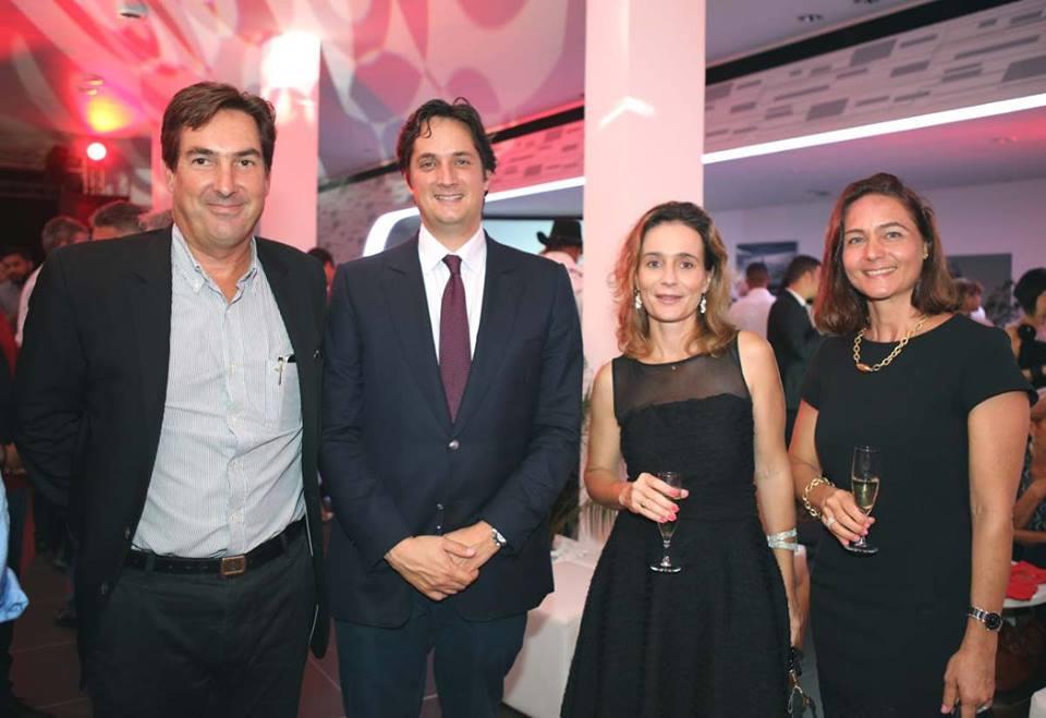 Amaury de Lavigne, Rodolphe Hayot, Florence Sireyjol et Sophie Lecourt-Grandmaison