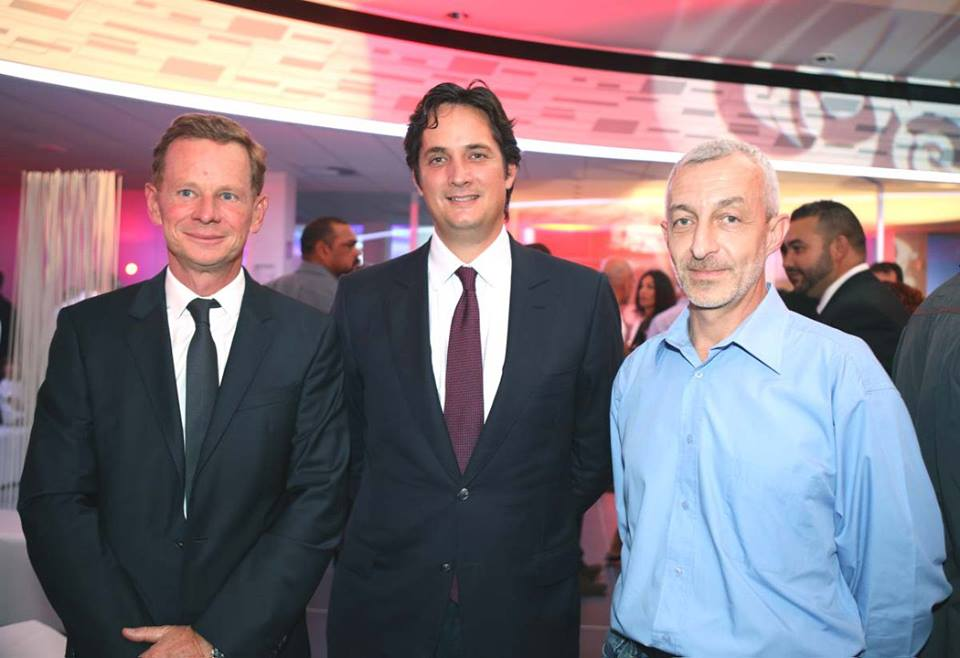 Marc Tezenas, Rodolphe Hayot et Pierre-Paul Leccia