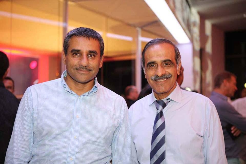 Zakaria Omarjee et Ibrahim Safla