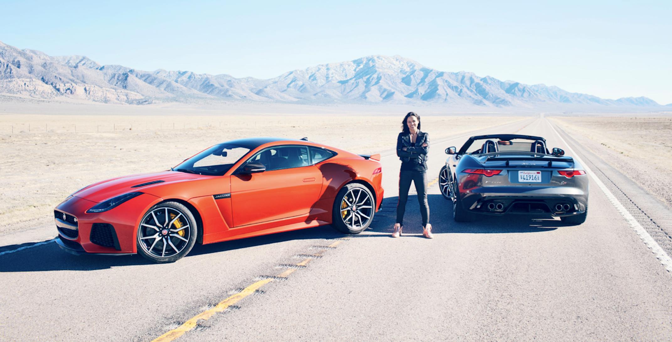 Michelle Rodriguez dans le désert du Nevada