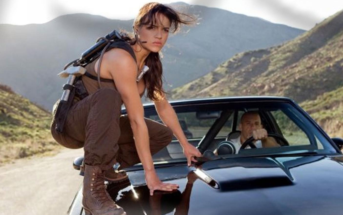 Dans Fast and Furious avec Vin Diesel