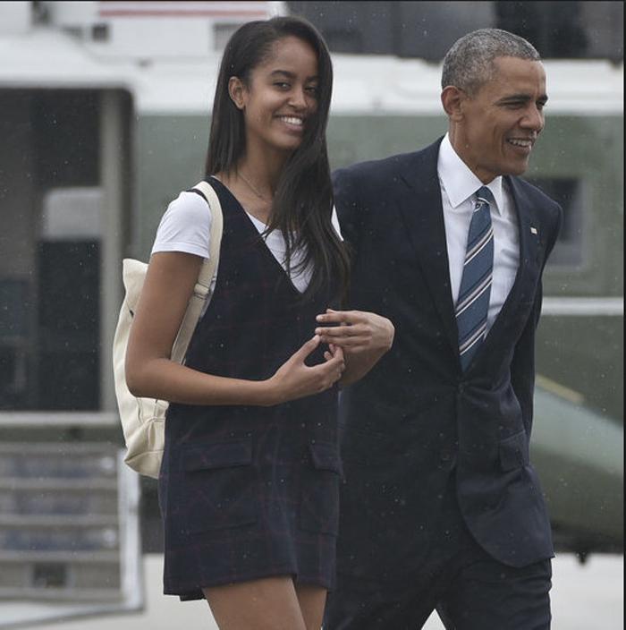 Malia Obama: à Harvard comme papa et maman!