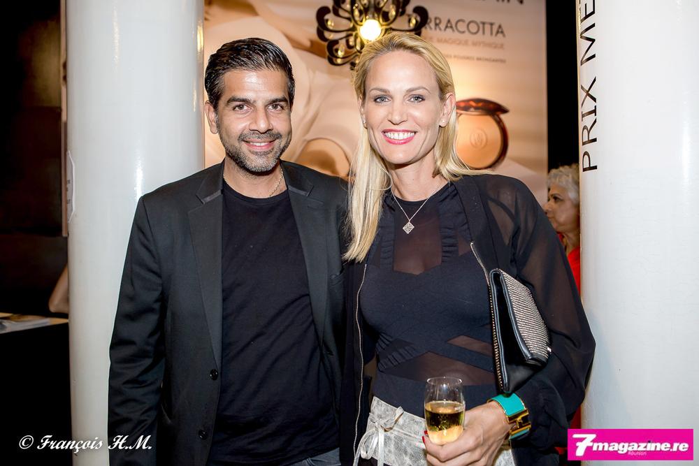 Hanif Ingar et son épouse