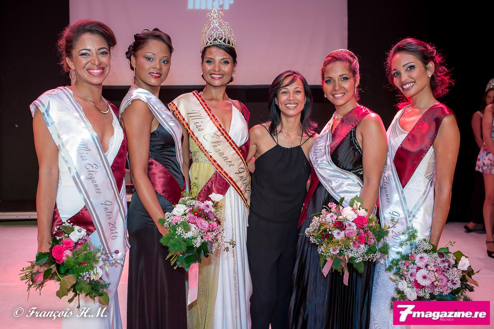 Miss Elégance Inter 2016<br>Florence Cataye élue