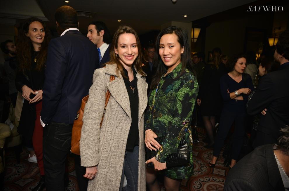 Sophie Trem et une amie