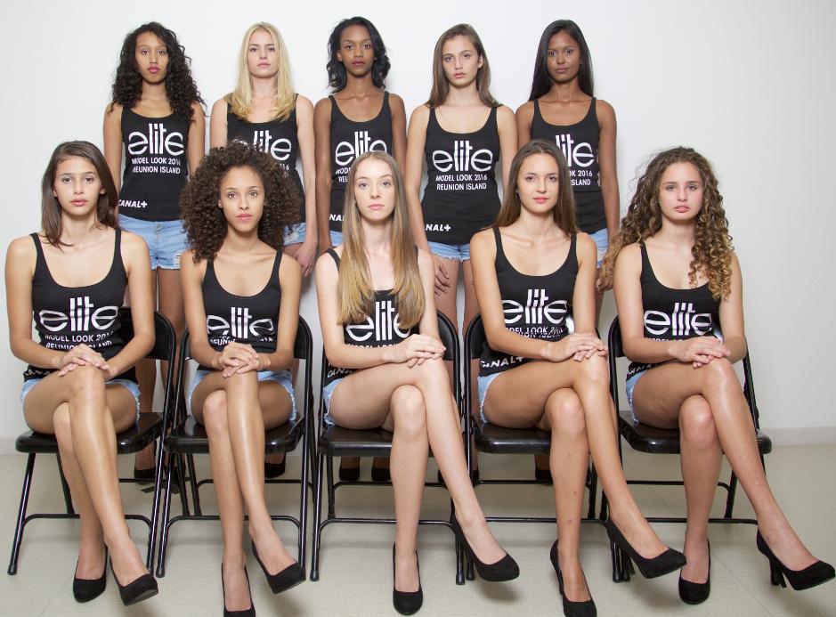 Les 10 finalistes Elite Model Look Reunion Island 2016