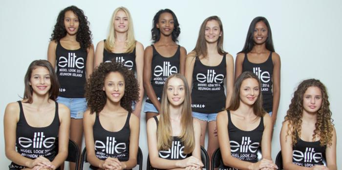 Portrait des 10 candidates Elite Model Look Reunion Island 2016