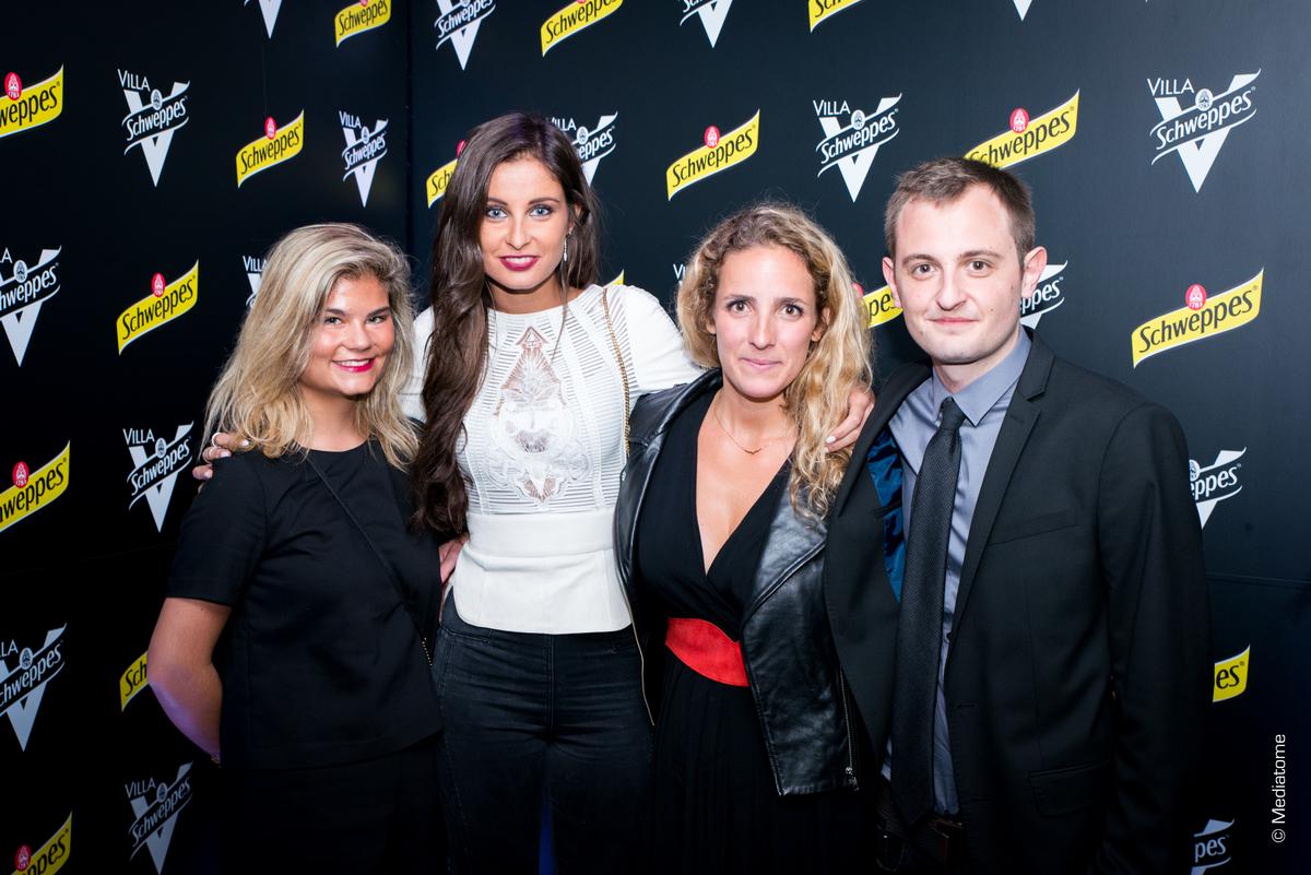 Malika Ménard et des invités