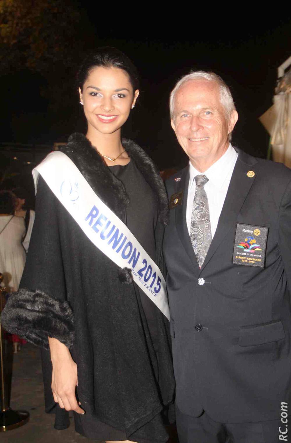 Azuima Issa et Jean Marie Fumery, Gouverneur du District 9220
