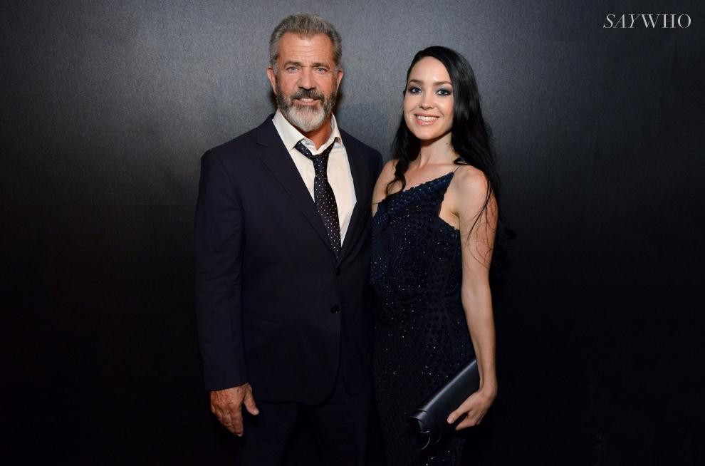 """Le célébrissime Mel Gibson, à l'affiche de """"Blood Father"""", était là avec sa compagne!"""
