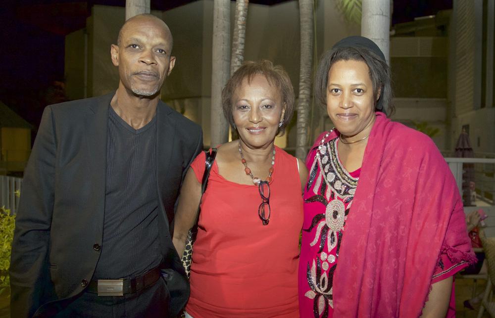 Wardat Monjoin avec le vice-président de ALCOI, et Cala Mrhehouri