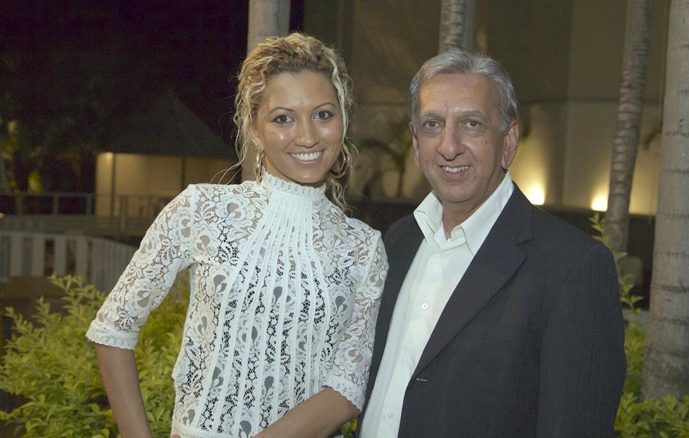 Ericka Vembouly et Aziz Patel