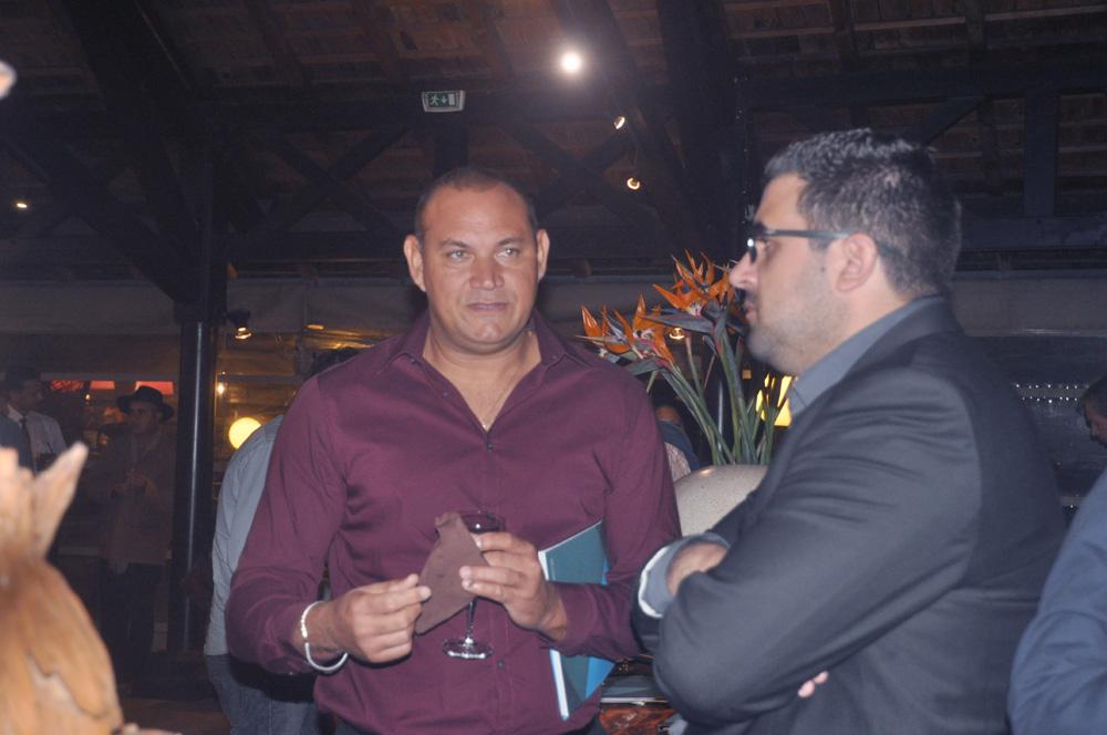 Guy Bounéa , président de l'ODIL, et Nicolas Hoarau, gérant d'entreprise