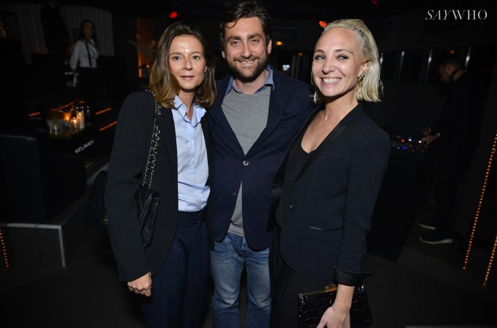 Delphine Gamory, Eric Juherian et Barbara de Premilhat