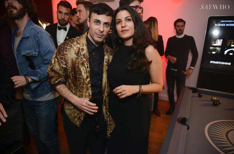 René Gloor et Tala Chakargi