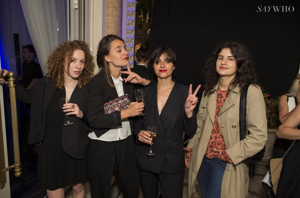 Sarah Joe, Sarah Borch Jacobsen, Elsa Klughertz et Marie-Louise Khondji