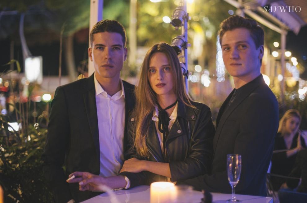 Thomas Delage, Alexia Gredy et Romain Mayoussier