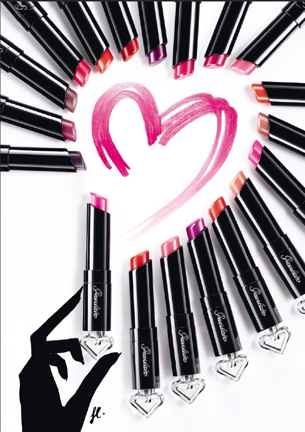 Guerlain crée le maquillage parfumé