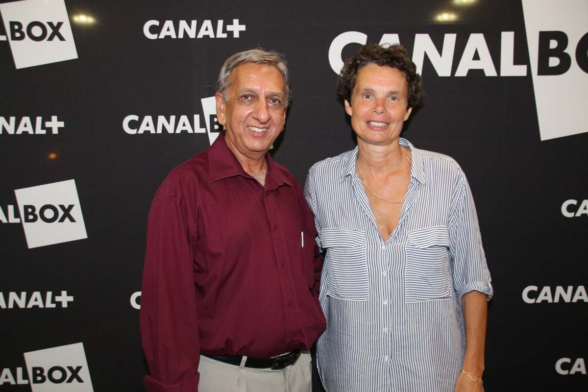 Aziz Patel et Catherine Carde