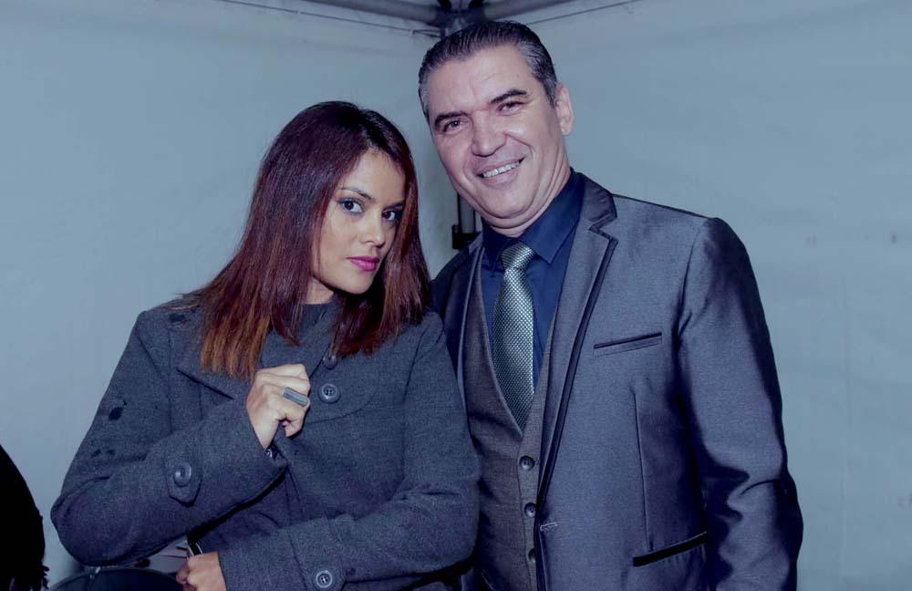 Katiana et Bruno, les présentateurs