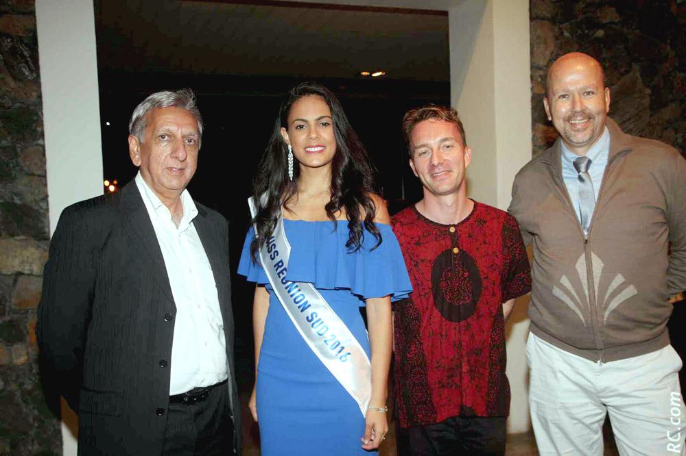 Aziz Patel, Anaïs Picard, Julien Corcellut et Patrice Péta
