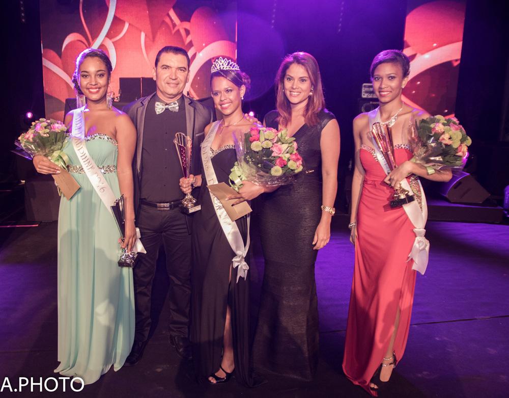 Les lauréates avec Bruno Rivière et Katiana Castelnau