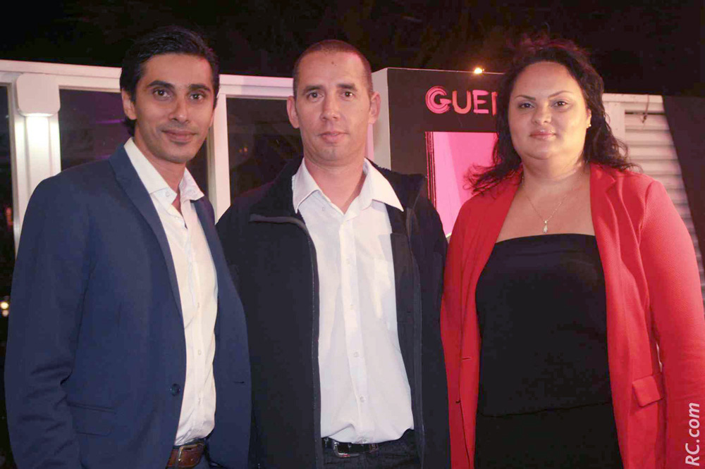 Didier et Virginie Payet, avec Shakir Locate