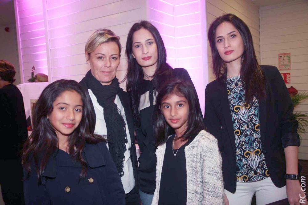 Emma Locate, Kenza, Emilie, Amélia et Louisa