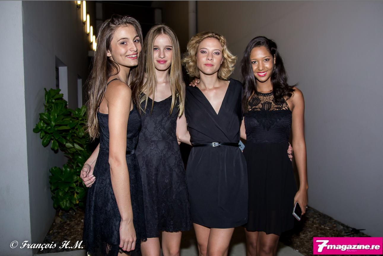 Kiara lauréate Elite Model Look Reunion Island 2016, Leia lauréate 2015 et lauréate à Milan à la finale internationale, Jade lauréate 2014, Raissa lauréate 2013