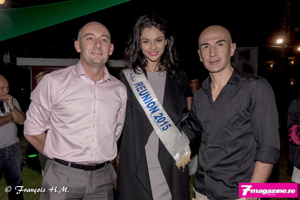 Dominique Saulquin de Cafpi, Azuima Issa, et un invité