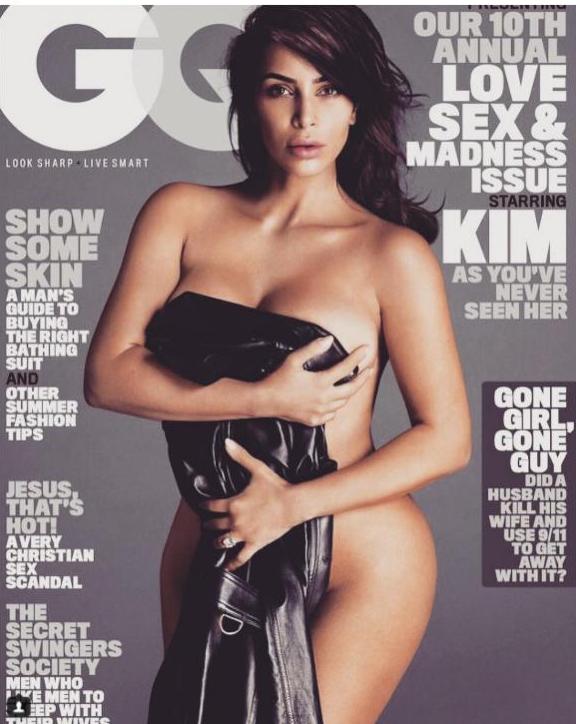 Kim Kardashian a encore perdu ses vêtements
