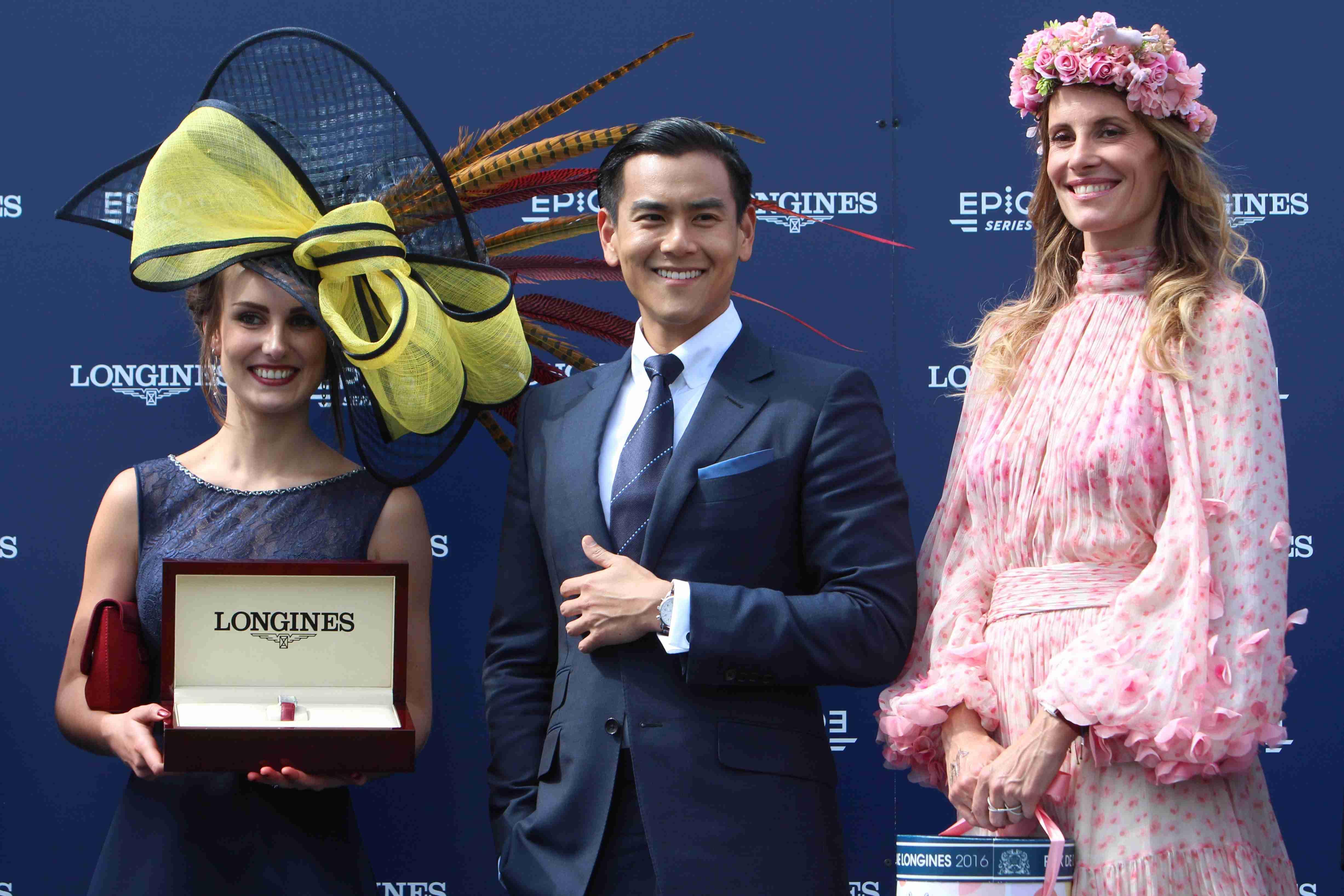 Prix de Diane Longines<br>La Cressonnière et les Elégantes en vedette!