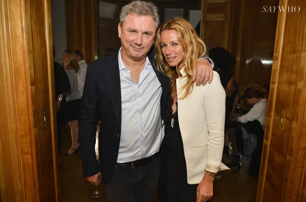 Thierry Millier et Carol Gerland
