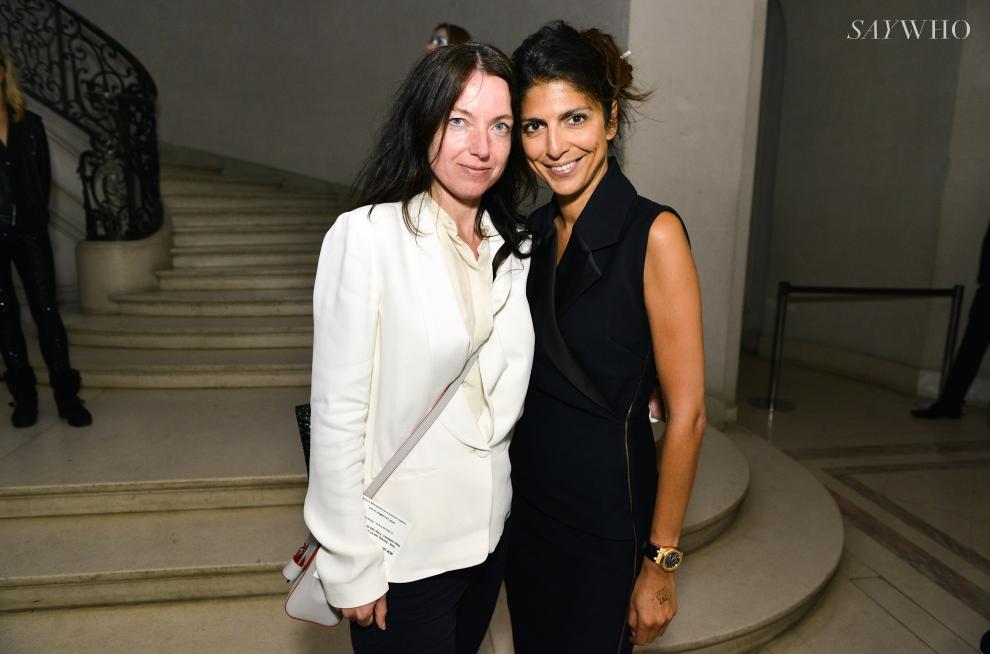 Hoda Roche et Armelle Leturcq