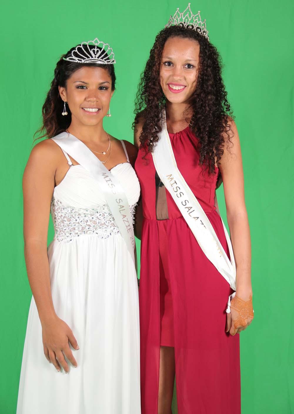 Miss Salazie 2016 et Miss Salazie 2015