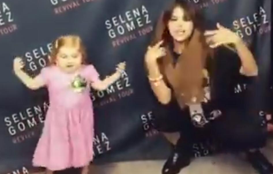 Selena Gomez et l'incroyable petite fille malade