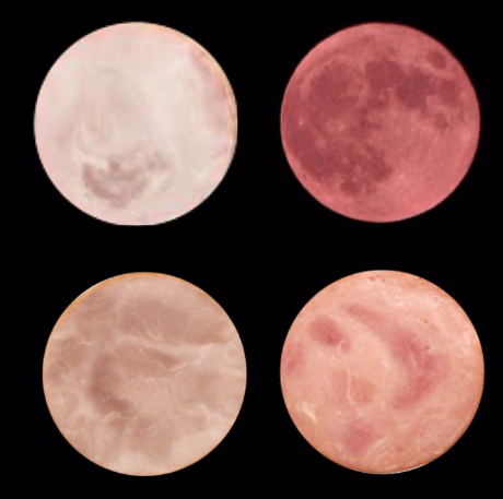 3 tranches de jambon et la strawberry moon