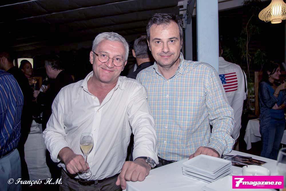 Jean-Yves Chaudey et un invité