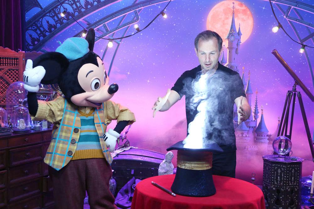 Mickey et Jean-Philippe Doux