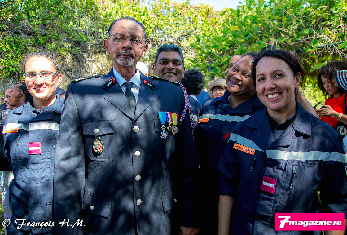 Le lieutenant-colonel Dominique Fontaine responsable du SDIS et ses pompiers