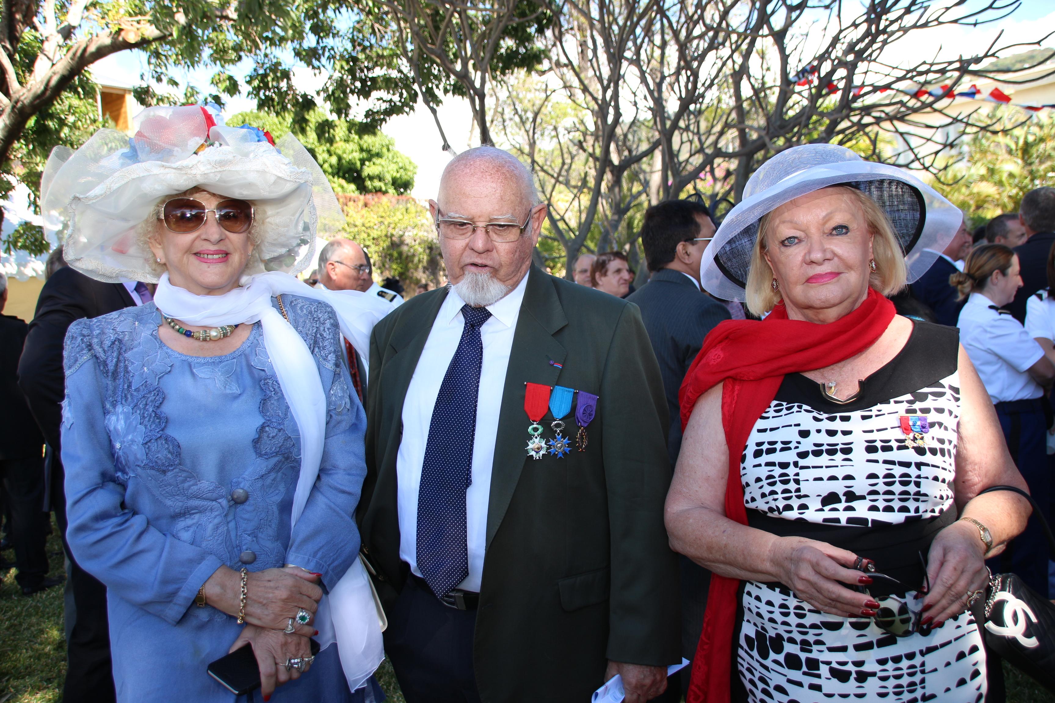 Carmen Allié, Alain-Marcel Vauthier, Aude Palant Vergoz