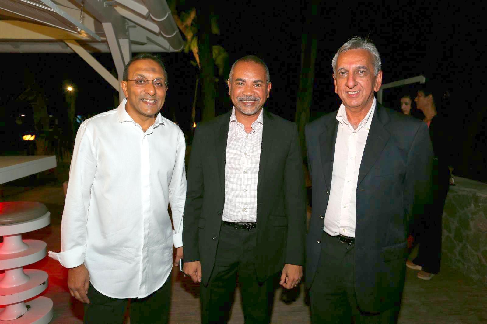 Ibrahim Ingar, Dominique Dufour, et Aziz Patel