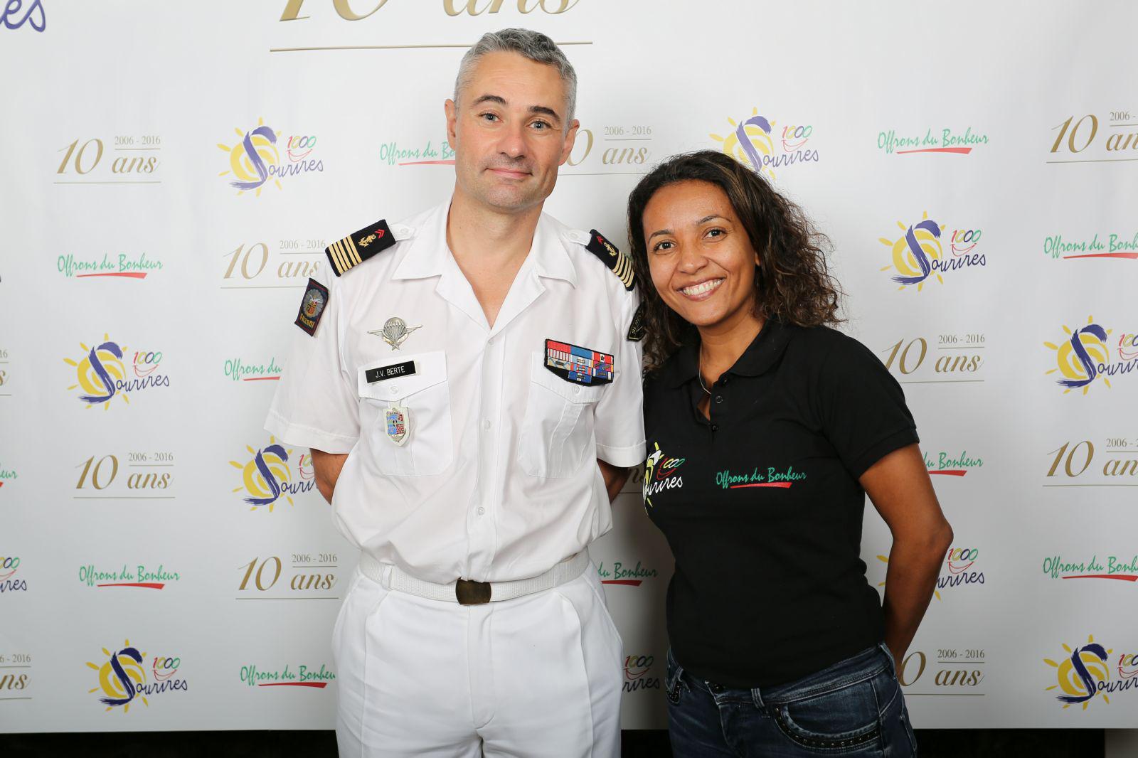 Jean-Vincent Berthe et Marie-Alice Sinaman