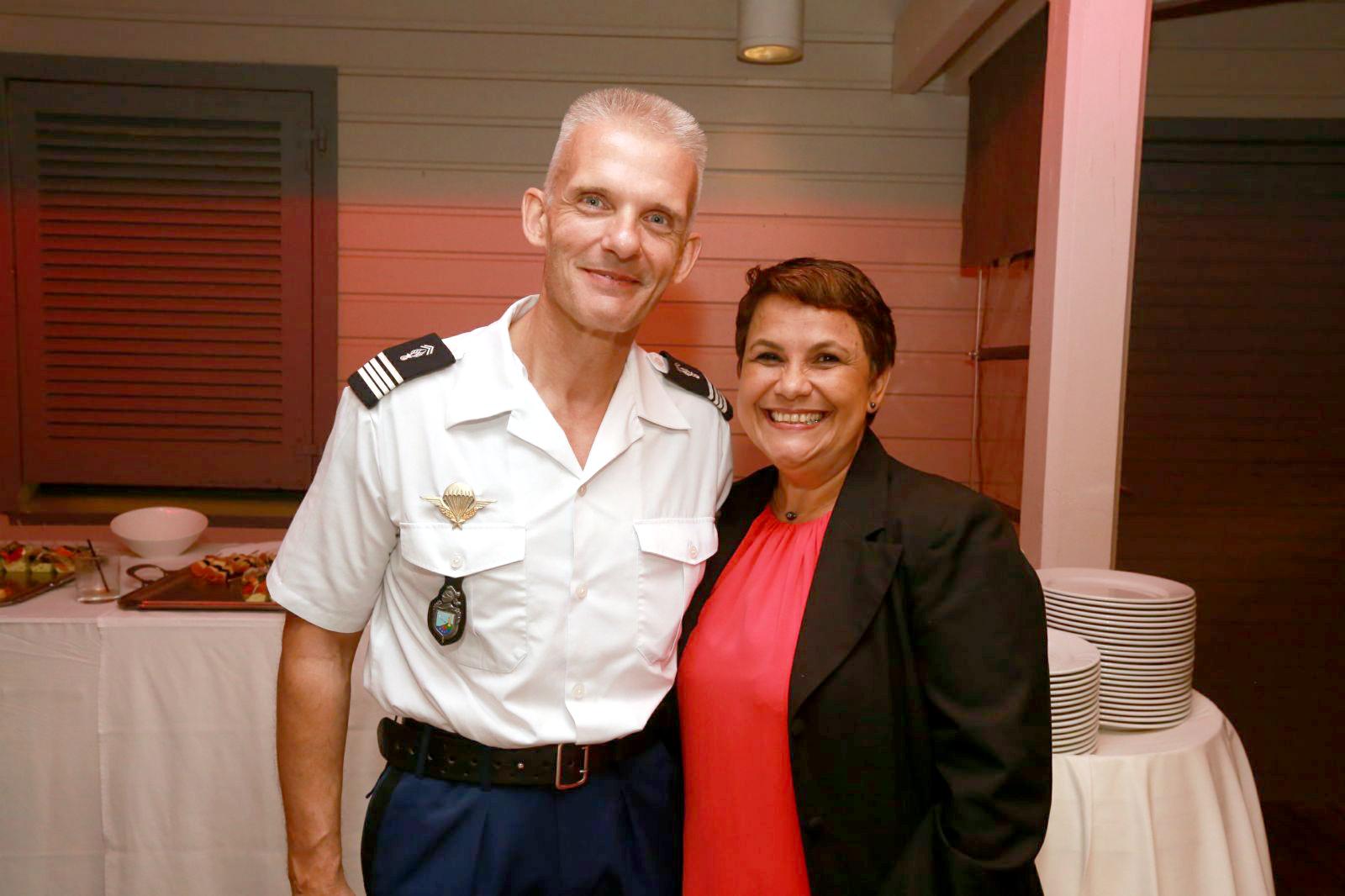 Lionel Héchard et Nadège Cadet