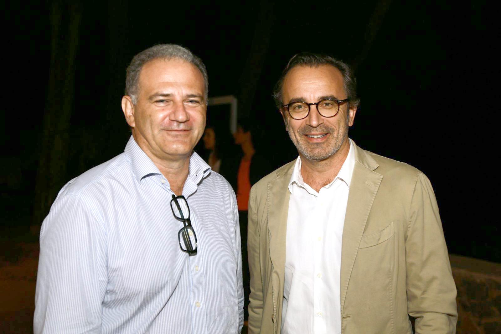 Eric Prost-Tournier et Eric Benavente