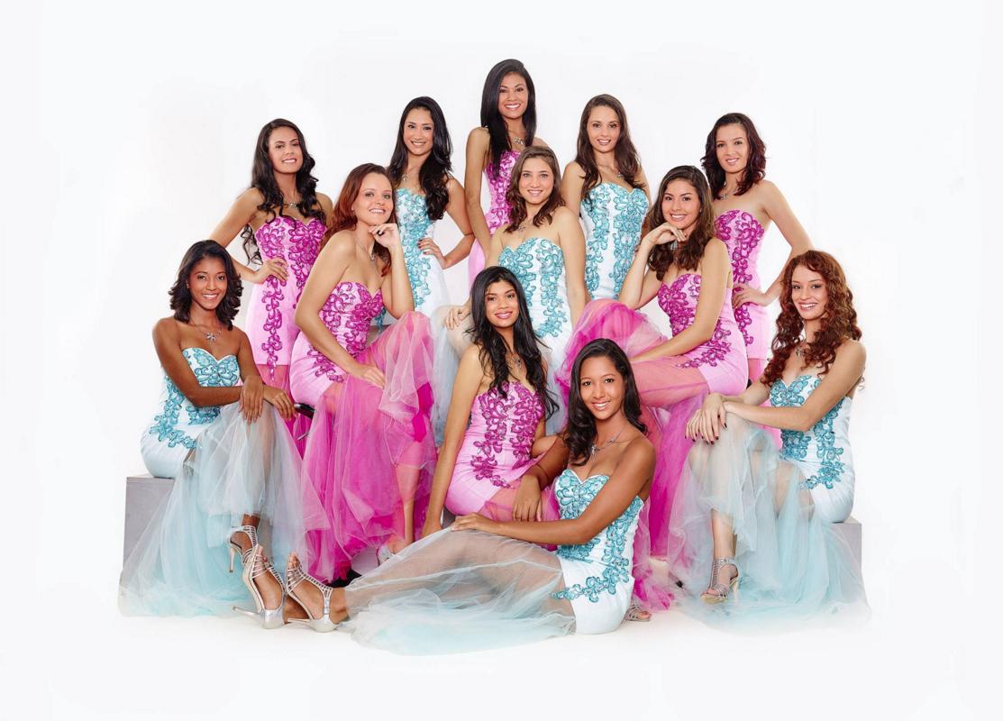 Nouvelles photos: Les candidates Miss Réunion 2016